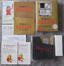 Nintendo NES juego game The Legend of Zelda inglesa versículo. sin usar nuevo