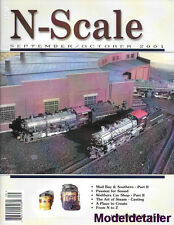 N-Scale Sept.01 GE C30-7 Unitrack Turnouts Cranes Walthers Car Shops Car Wash