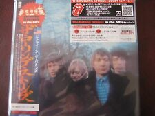 ROLLING STONES BUTTONS U.S. TRACKS RARE JAPAN OBI REPLICA SEALED CD W/ STICKERS