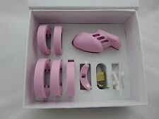 Pink Silicone Chastity Belt CB Small Sexy Fetish Free U.K Delivery