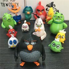 NEW 13pcs/set Angry Birds Action Figures 4-7cm Toys doll cartoon movie Kids Gift