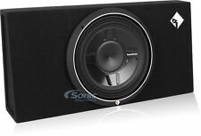 """Rockford Fosgate P3S-1X12 Loaded 800W 12"""" Punch Stage 3 Car Subwoofer Enclosure"""