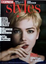 Mag STYLES  2012: MICHELLE WILLIAMS