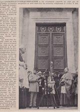 1934  --  DISCOURS DE PETAIN   REOUVERTURE CATHEDRALE D ARRAS   3G069