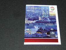N°17 CITY VIEW VIENNE WIEN PART 2 ÖSTERREICH PANINI FOOTBALL UEFA EURO 2008