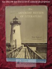 Saturday Review May 22 1943 LEONARD BACON DOROTHY CANFIELD FISHER