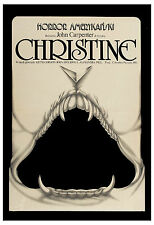 Horror: * Christine *  John Carpenter's Polish Movie Poster 1985