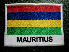 REPUBLIC OF MAURITIUS MAURITIAN NATIONAL FLAG Sew on Patch Free Postage