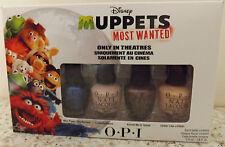 OPI Minis Disney MUPPETS most wanted nail varnish polish