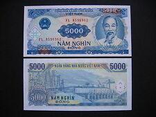 VIET NAM  5000 Dong 1991  (P108a)  UNC