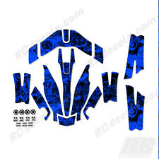 Traxxas Aton Plus Body Wrap Decal Skin Sticker Canopy Bubbles