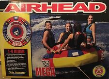 New Airhead Mega 1-4 Rider Performance Towable Tube Inflatable Float