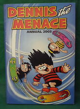 DENNIS THE MENACE ANNUAL 2003 GNASHER DOG BEANO CARTOON COMIC STRIP  GIFT