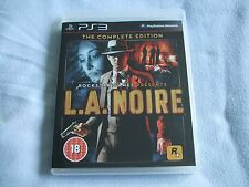 L.A. Noire - Complete Edition (PS3) - UK version - New, Unsealed