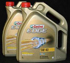 2x5 Liter Castrol EDGE FST TITANIUM  5W-40 AUDI BMW LL-04 Mercedes  VW Motoröl