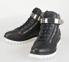 New. GIUSEPPE ZANOTTI Blitz Lindos Vague Hi-Top Sneakers Shoes 7 US 40 EU $995
