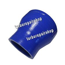 "4PLY 2.5"" to 3"" Reducer Coupler Silicone Silicon Turbo Hose  Pipe 63 to 76mm"