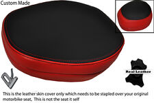 RED & BLACK CUSTOM FITS BMW C1 125 200 HEADREST LEATHER SEAT COVER