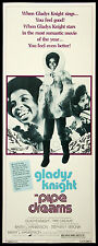 "1976 Gladys Knight Pipe Dreams Insert (14""x36"") Original Movie Poster"