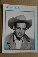 (S25) STARPORTRAITKARTE - Guy Madison