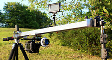 Camera Slider 150cm long for CANON NIKON SONY JVC PANASONIC BMC 4k etc ***UK***