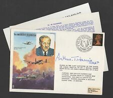 1976 Sir Arthur Harris Official cover signed Arthur T Harris + inserts.