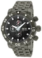 New Mens Invicta 14216 Sea Base Swiss Automatic Valjoux 7750 Titanium Watch