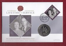 2011 FDC £2 COIN LIFETIME OF SERVICE BRITISH INDIAN OCEAN TERRITORY L/O