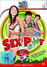 Sex Pot DVD in 2 D und 3 D(2013) inklusive 2 neuen 3 D Brillen wendecover