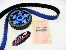 VMS 92-00 HONDA CIVIC SOHC D16 GATES TIMING BELT & ADJUSTABLE CAM GEAR BLUE KIT