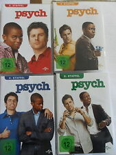 4x PSYCH - Staffel 2 + 3 + 4 + 5 BOX-Set - DVD