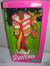 #8680 NRFB Mattel United Colors of Benetton Christie (Barbie) Foreign Issue