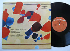 LP Rose Marie Zartner / Tonnie De Graaf - Werke / Improvisationen - Colosseum