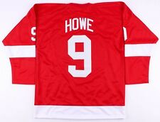 Gordie Howe Red Wings On-Ice Style Custom Stitched Captain Jersey (Size XL)