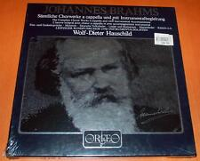 Brahms - Complete Choral Works - Hauschild - Orfeo Sealed 6 LP Box Set