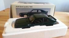 Autoart Audi Sport quattro 1984, dark green 1:18