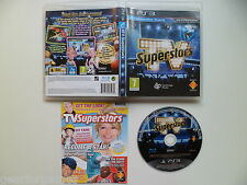 SONY PS3 PLAYSTATION 3 PAL GAME TV SUPERSTARS TESTED