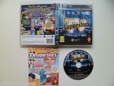 SONY PS3 PLAYSTATION 3 TV PAL juego superestrellas Probado