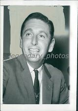 1960 Portrait of Test Pilot Scott Crossfield Original News Service Photo