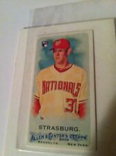 2010 Allen Ginter STEPHEN STRASBURG Mini Rookie SP 401 TOPPS ALLEN GINTER ROOKIE