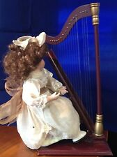 ANCOWoman & Harp Music Box - Some Damage - See Pictures