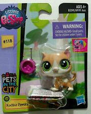 Kitty Cat Kochka Pawsky Littlest Pet Shop Pets in the City Park #118 New Release