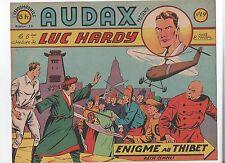 AUDAX première série n°19. MELLIES Enigme au Thibet. Ed. Artima 1950.