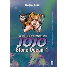 LE BIZZARRE AVVENTURE DI JOJO - STONE OCEAN 1 DI 11 - STAR COMICS NUOVO