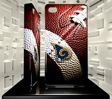 Coque rigide pour iPhone 4 4S Saint Louis Rams NFL Team 03
