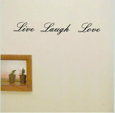 Live Laugh Love Removable Wall Decor Quote Vinyl Sticker Words Decal Home Art