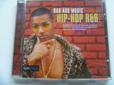BAD ASS HIP HOP R&B KPM  RARE LIBRARY SOUNDS MUSIC CD