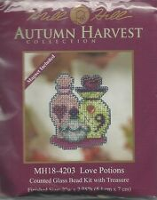Love Potions Mill Hill Cross Stitch Kit with Beads & Treasure