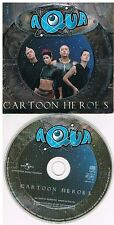 Aqua ‎– Cartoon Heroes CD Single 2000