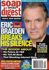Eric Braeden, Laura Wright, Thaao Penghlis - October 31, 2016 Soap Opera Digest